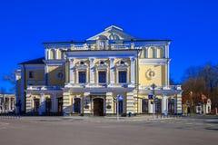 Minsk, Yanka Kupala teatr Zdjęcia Stock