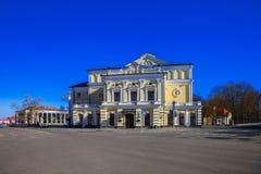 Minsk, Yanka Kupala teatr Fotografia Stock