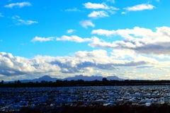 Minst bergskedjaSutter Buttes Fotografering för Bildbyråer