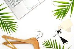 Minsta begrepp för modeblogger` s royaltyfria bilder