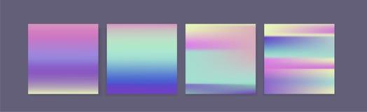 Minsta holographic bakgrund i bensinfärger Royaltyfria Foton