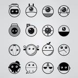 Minsta objektdesign för cirkel royaltyfri illustrationer
