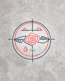 Minsta religiöst symbol vektor illustrationer
