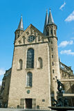 Minster. One of the oldest churches in Germany, emblem of the City of Bonn Stock Photos