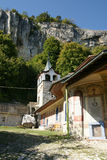 Minster. An ancient monastery in the mountains of Bulgaria in the autumn Royalty Free Stock Photography