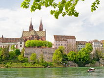 Minster of Basel,Switzerland Stock Photography