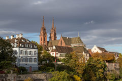 Minster in Basel, Switzerland Royalty Free Stock Image