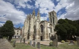 Minster Church of St Peter and St Paul, Howden at Howden, East Y royalty free stock images