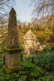 Minster church in Valency woods near Boscastle Stock Images