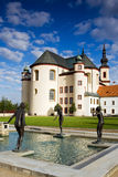 Minster in Czech royalty free stock image