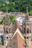 The Minster of Freiburg (Germany) Royalty Free Stock Images