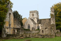 Minster Lovell in Cotswold district of England Stock Photos