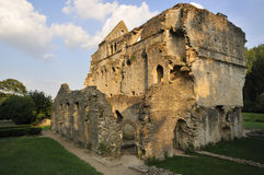 Minster Lovell Hall. Remains of Minster Lovell Hall, Oxfordshire Stock Image