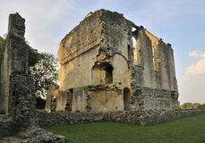 Minster Lovell Hall. Remains of Minster Lovell Hall, Oxfordshire Stock Photo