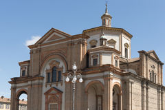 Minster massive building, Voghera, Italy Stock Images