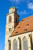 Minster st. georg in dinkelsbühl Royalty Free Stock Photography