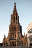 Minster of Ulm. The minster of Ulm, South-Germany Royalty Free Stock Image