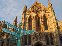 minster york Royaltyfri Bild