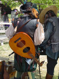 Minstrels. Two minstels at the Renaissance Faire Stock Image