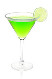 Mint alcohol cocktail Stock Image