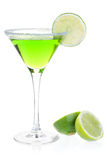 Mint alcohol cocktail Stock Images