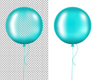 Mint Balloons Royalty Free Stock Photos