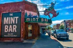 Mint Bar - Sheridan, WY royalty free stock photo