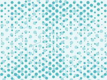 Mint blue abstract background with dots. Vector. Illustration royalty free illustration