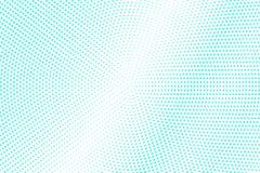 Mint blue dotted halftone. Half tone background. Cold dotted gradient. Cold palette futuristic texture. Mint blue ink dot on transparent backdrop. Pop art vector illustration