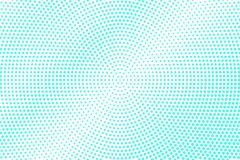 Mint blue dotted halftone. Half tone background. Detailed dotted gradient. Cold palette futuristic texture. Mint blue ink dot on transparent backdrop. Pop art stock illustration