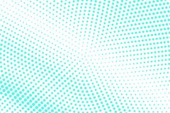 Mint blue dotted halftone. Half tone background. Faded dotted gradient. Cold palette futuristic texture. Mint blue ink dot on transparent backdrop. Pop art vector illustration