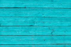 Mint blue painted wooden board, texture background royalty free stock images
