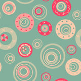 Mint bubbles seamless pattern Royalty Free Stock Photography