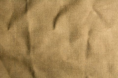 Mint burlap canvas texture for background. Royalty Free Stock Images