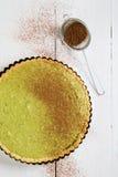 Mint cake. Fresh Mint cake on table Stock Photo