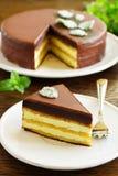 Mint Cake Opera Stock Image