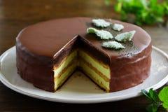 Mint Cake Opera Stock Images