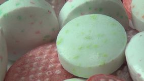 Mint Candy, Sweets, Sugar, Treats stock video