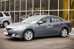 Mint car. New sedan in mint condition Stock Photography