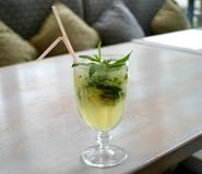 Mint Cocktail Royalty Free Stock Image