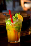 Mint cocktail Royalty Free Stock Images