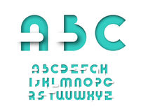 Mint color graphical layout type. Stock Image