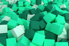 Mint cubes Royalty Free Stock Images