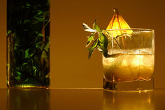 Mint drink royalty free stock photo