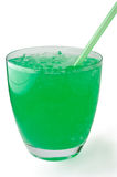 Mint  drink with crushed ice Royalty Free Stock Photography