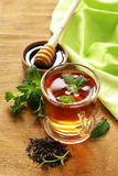 Mint flavored tea Royalty Free Stock Photos