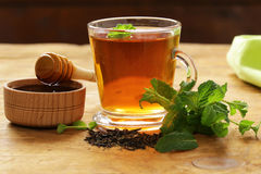 Mint flavored tea Stock Photography