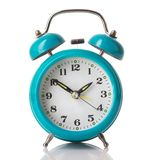 Mint green alarm clock