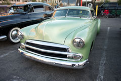 Mint Green Chevrolet. 51 Chevy Coupe Royalty Free Stock Photography
