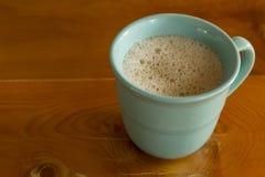 Mint green coffee mug-6449 Royalty Free Stock Image
